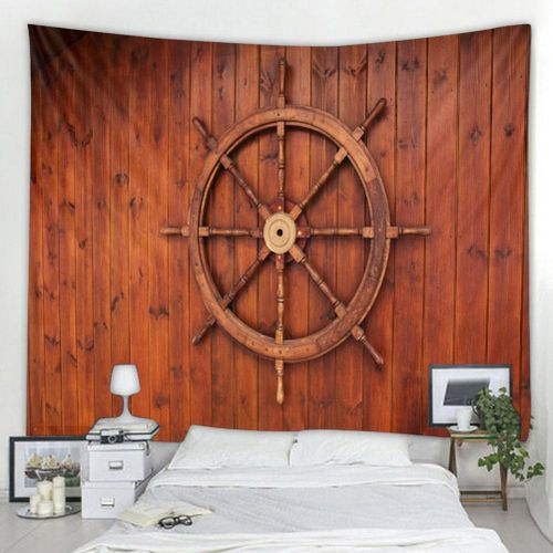 3D Printed Polyester Bohemian Large Wall Tapestry Creative Wooden Board Wall Hanging Bedding Tapestry Hanging Blanket Home Decor