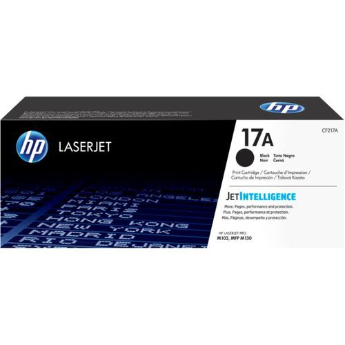 17a Toner Cartridges Black