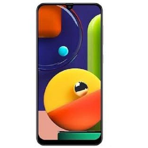 Galaxy A50s 6.4-Inch (4GB,128GB ROM) Android 9 Pie, (48MP+5MP+ 8MP) + 32MP 4G Dual SIM - Prism Crush White