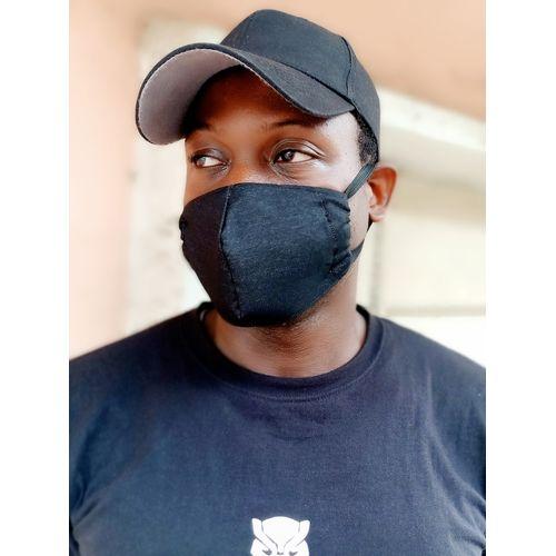 Black Dust Pollution Face Mask