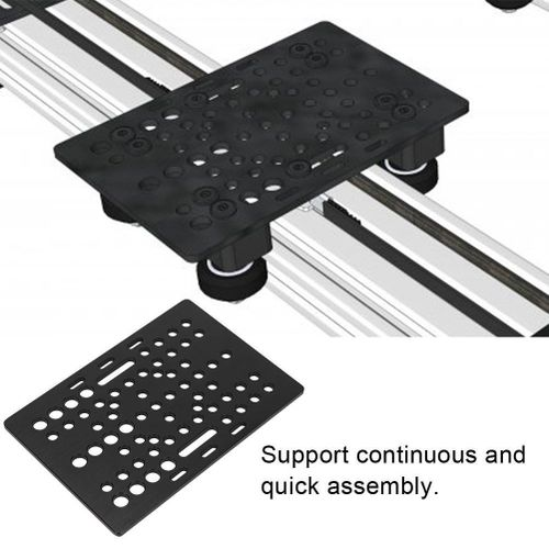 3D Printer Accessory Universal Build Board For Linear Guides V-Slot 20-80mm Construction Board 3mm Thick For 3D Printer