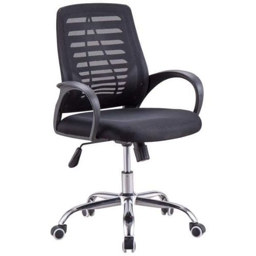 Strong Mesh Office Chair- Black