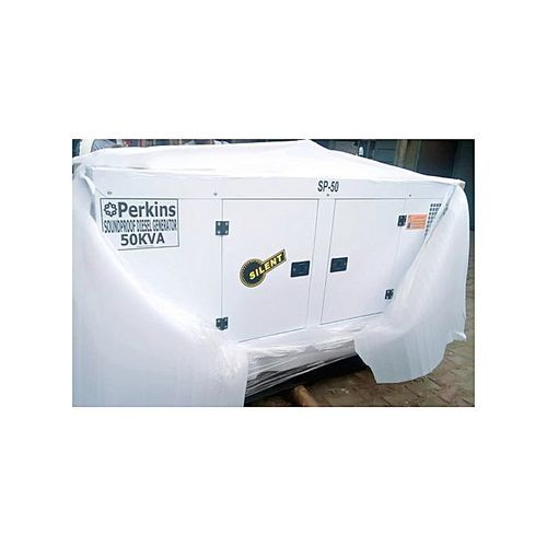 New 50kva Soundproof Diesel Generator. Newly Packaged