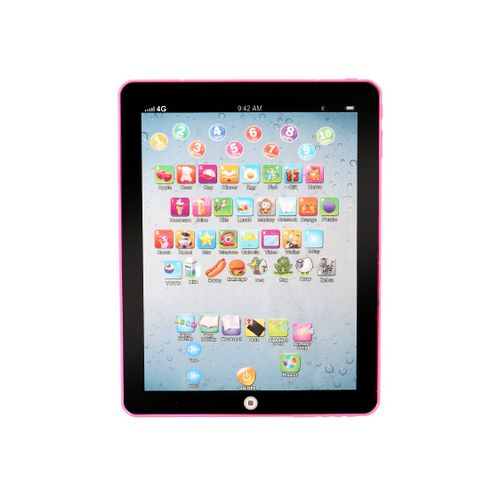 Kids Children Tablet Pad Electronic Preschool English Learning Educational Teach Toy