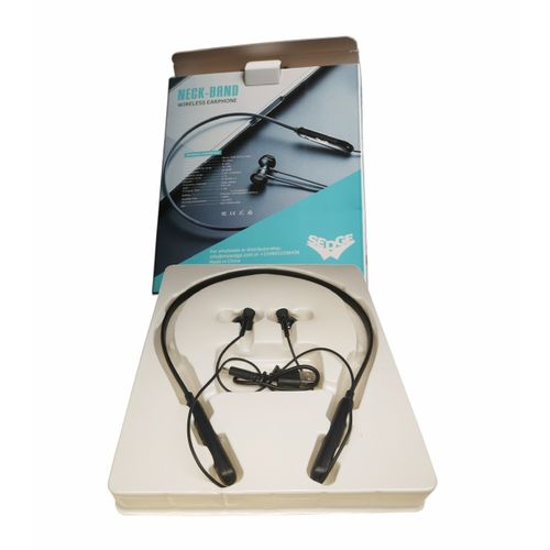 Black Bluetooth Earphone (with Over 8 Hours Of Battery-life)