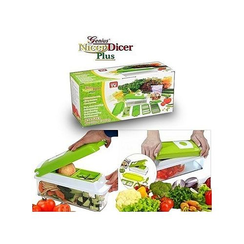 Nicer Dicer Plus For Vegetables And Fruit