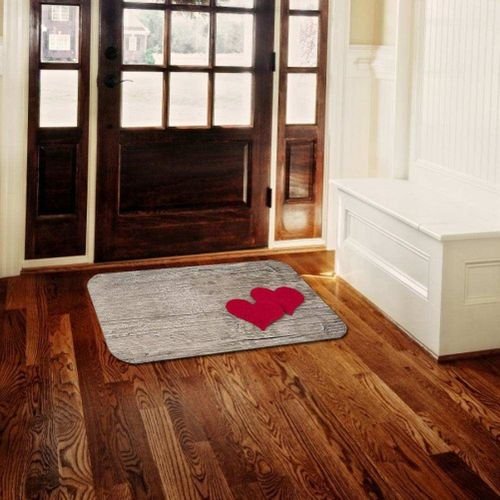New Modern Polyester Non-slip Door Mat Foot Pad Home Bathroom Living Room Bedside