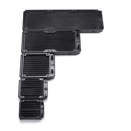 120mm Straight Computer Aluminum PC Water Cooling System Equipment Heat Dissipation Radiator
