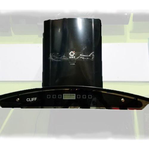 Remote Range Hood(Smoke Extractor With Charcoal Filter And Remote) For 6 Burner Gas With Glass Top