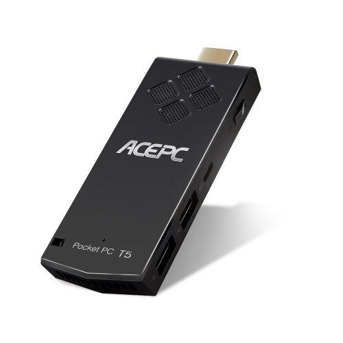 ACEPC T5 Pocket Mini PC Stick Intel Z8350 / Windows 10 / 2GB RAM + 32GB ROM / 2.4G Wi-Fi / BT4.0