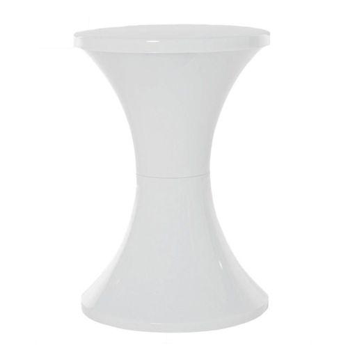 Habitat Tam Tam Plastic Stool - White