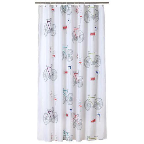 Shower Bath Curtain Waterproof Bathroom Curtain Waterproof Bathroom Curtain Mildew Proof With Hanging Hooks