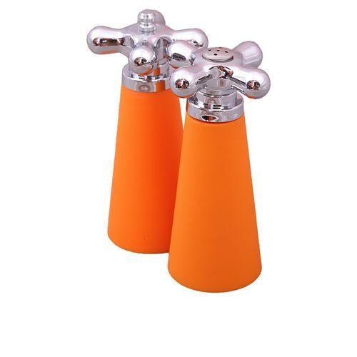 2pcs salt and pepper sharker - orange