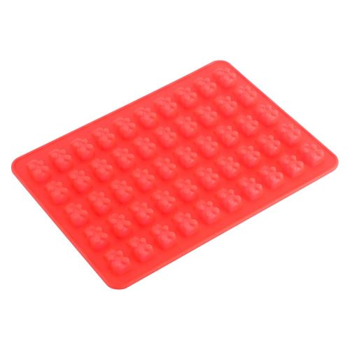 50 Cavities Gummy Bear Molds With Bonus Dropper Candy Silicone Molds Ice Cube Trays For Candy Chocolate Jelly Ice Cream Making