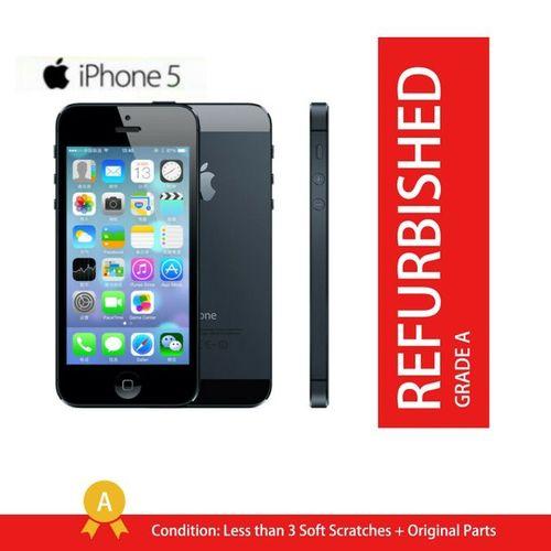 IPhone 5 - 16GB ROM +1GB RAM -8 MP- 4 Inch - Apple Smartphones 95% New