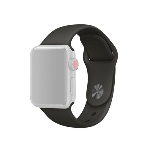 For Apple Watch Series 3 And 2 And 1 42mm Fashion Simple Style Silicone Wrist Watch Band (Grey)