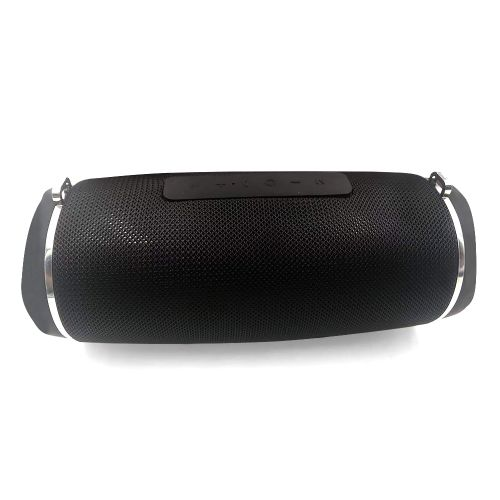 L20 Mini Speaker With Stereo Bass And Microphone Black