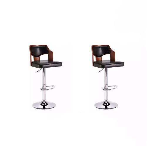 Bar Stools With Wooden Back Rest