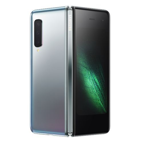 Galaxy Fold 7.3-Inch AMOLED (12GB,128GB ROM)Android 9.0 Pie, (16MP+12MP+12MP)+(10MP+8MP) 4G Smartphone - Space Silver