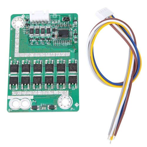 4S 14.8V 50A Battery Protection Board BMS PCB With Balance For LiFePo4 Lithium Iron Battery