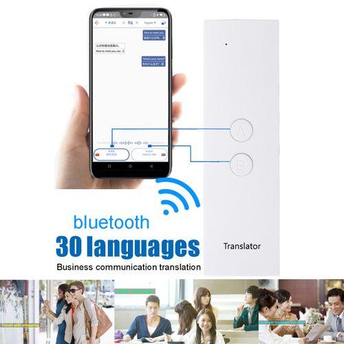 30 Languages Smart Voice Translator Translation Kit Instant Voice Pocket Device