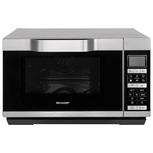 25L Convection 2-In-1 Flat Bed Microwave Oven & Grill - 15 Auto-Cook Programmes