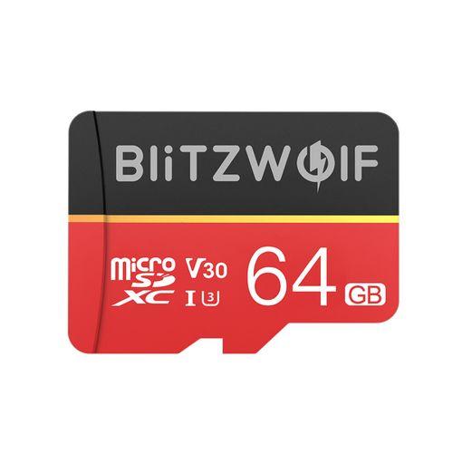 BW-TF1 64GB Micro SD TF Memory Card W/ Adapter For Camera