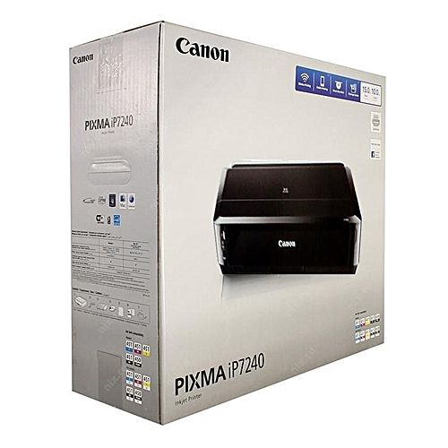 Pixma IP7240 (CD/DVD/Direct On Plastic I.D Card/Documents/Passport And Full Photo Printing Machine)