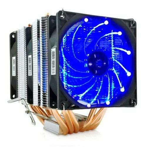 Iceman 6 Heat Pipe CPU Radiator Desktop Cpu Fan - Blue