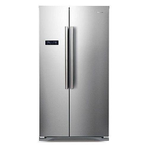 562 Litres Side By Side Refrigerator - REF 76 WS- Silver