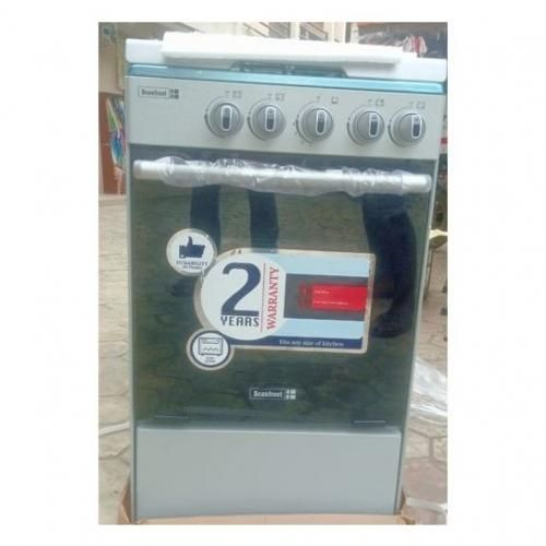 4 Burners Stand Gas Cooker With Oven And Grill