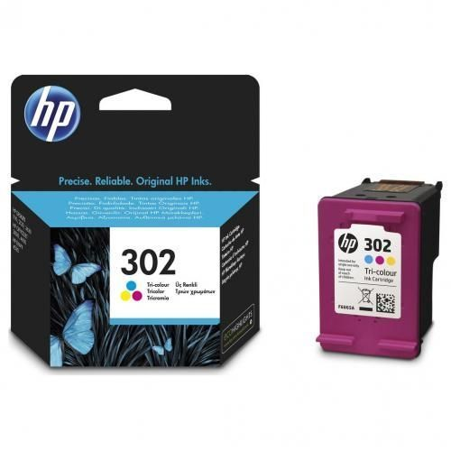 302 Tri-color Ink Cartridge - (Cyan, Magenta,Yellow)