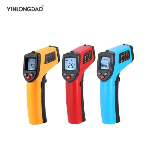 GM320 Non-contact LCD Laser Infrared Digital Thermometer