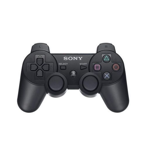 PS3 Dual Shock Wireless Controller Pad - Black
