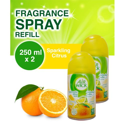 Freshmatic Refill Air Freshener - Sparkling Citrus X 2