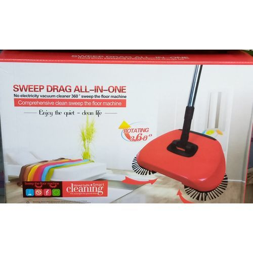 Magic Sweeper Spin Broom