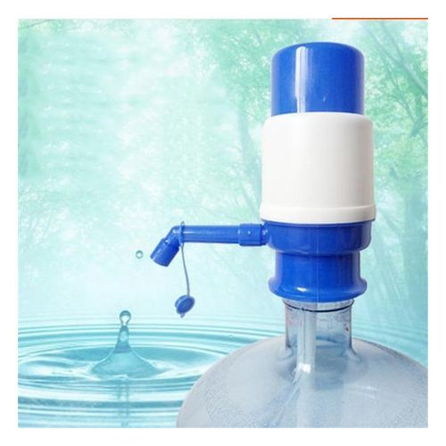 Manual Water Pump - White/Blue COLOR