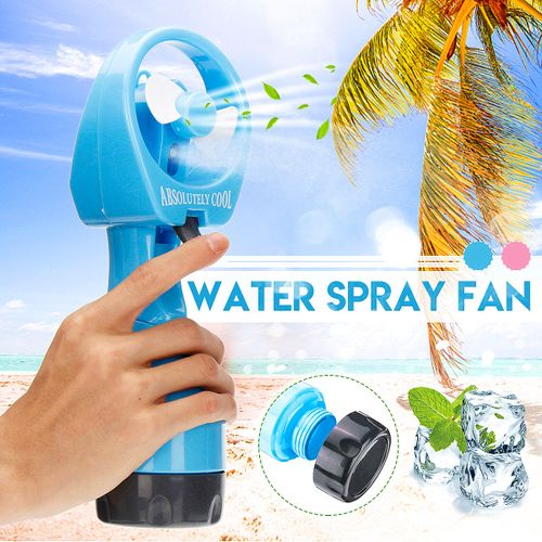 Portable Hand Held Cooling Water Spray Misting Fan Cooler Mist