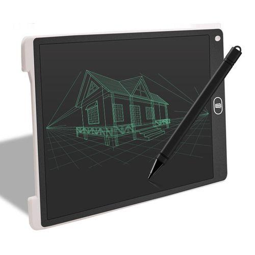 12 Inch Children Education Lcd Electronic Blackboard White