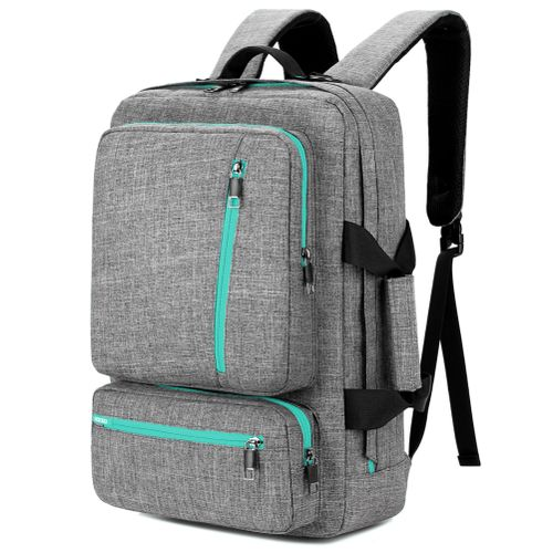 Convertible Laptop Backpack,Multi-functional 17.3 Inch ,Grey