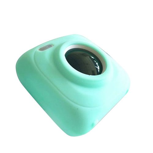Soft Silicone Anti-fall Printing Cover Photo Printer Case For PAPERANG P1 Green