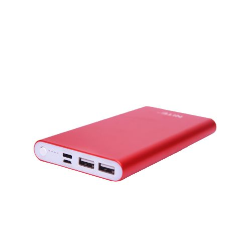 13800mAh Power Bank Dual Port Fast Charge - 8GN - Red