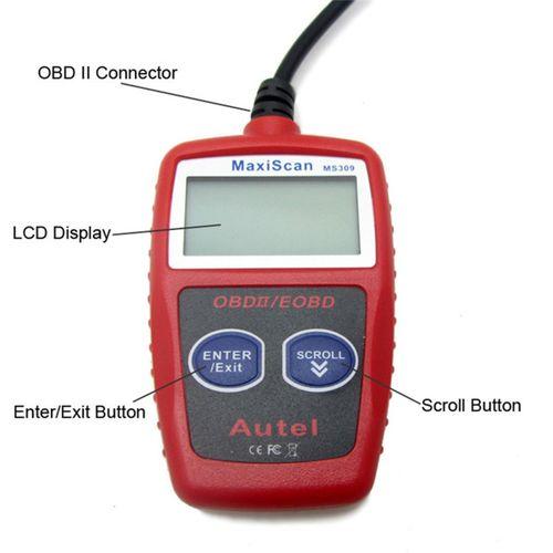 Car Engine Fault Diagnostic Scanner Tool Auto Code Reader OBD 2 OBDII KW806