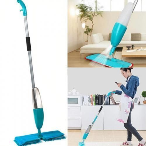 Floor Spray Mop With 360° Rotating Head