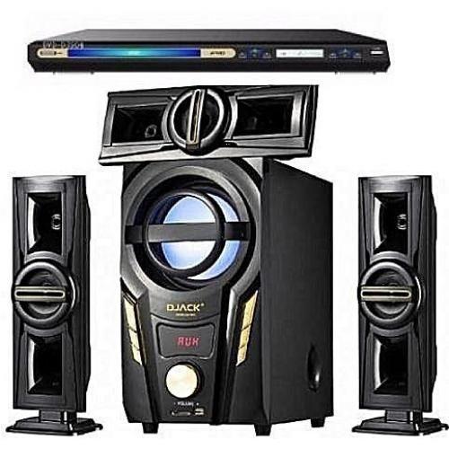 Bluetooth Home Theatre System Dj-703A + DVD Player