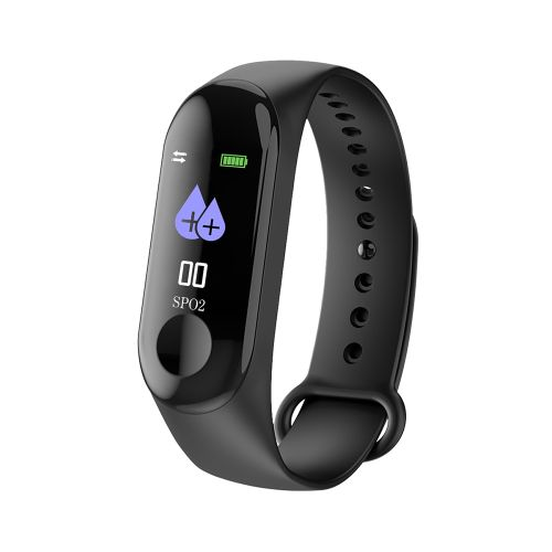 Sleep / Heart Rate / Blood Pressure Monitoring OLED Fitness Tracker & Smartwatch