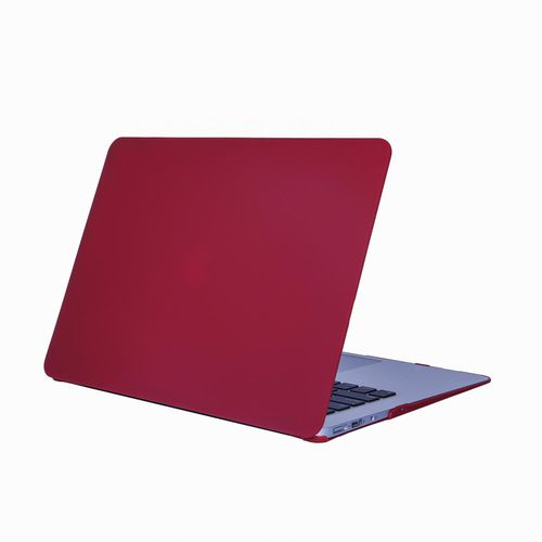 """PC Material Rugged Matte Texture Armor Protective Case Apple MacBook Air 11.6"""" Case / Plastic Hard Case Cover For MacBook Air 11.6 Inch -Wine Red"""