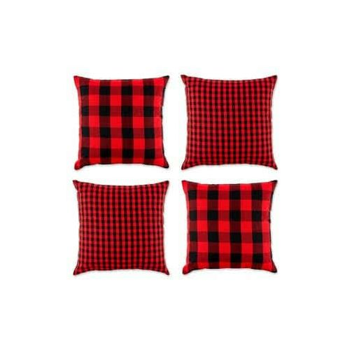 Berry Wine Throw Pillows- 4 Pieces.