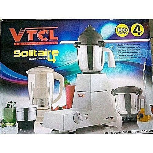Solitaire Blender/Grinder- 4 Jars (1000W)