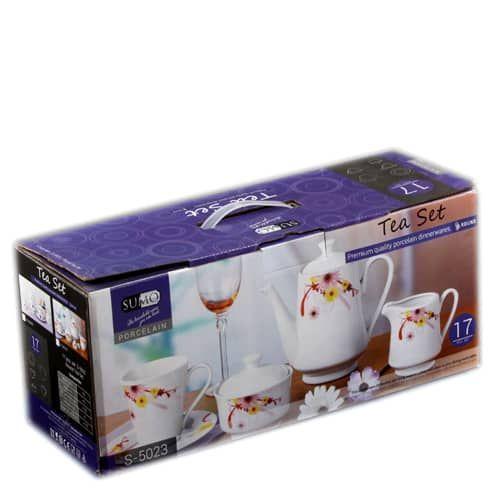 17pcs Tea Set